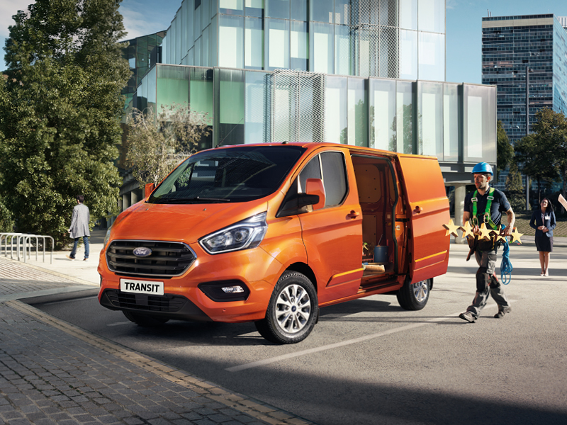 Transportbilsfrukost-Ford Transit Connect
